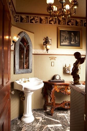 Victorian Bathroom Chandelier  Dollhouse  Pinterest  Victorian Amusing Bathroom Chandelier Inspiration