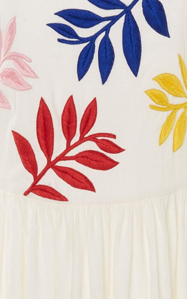 Carolina K Nika Linen Dress Linen dress, Linen, Moda