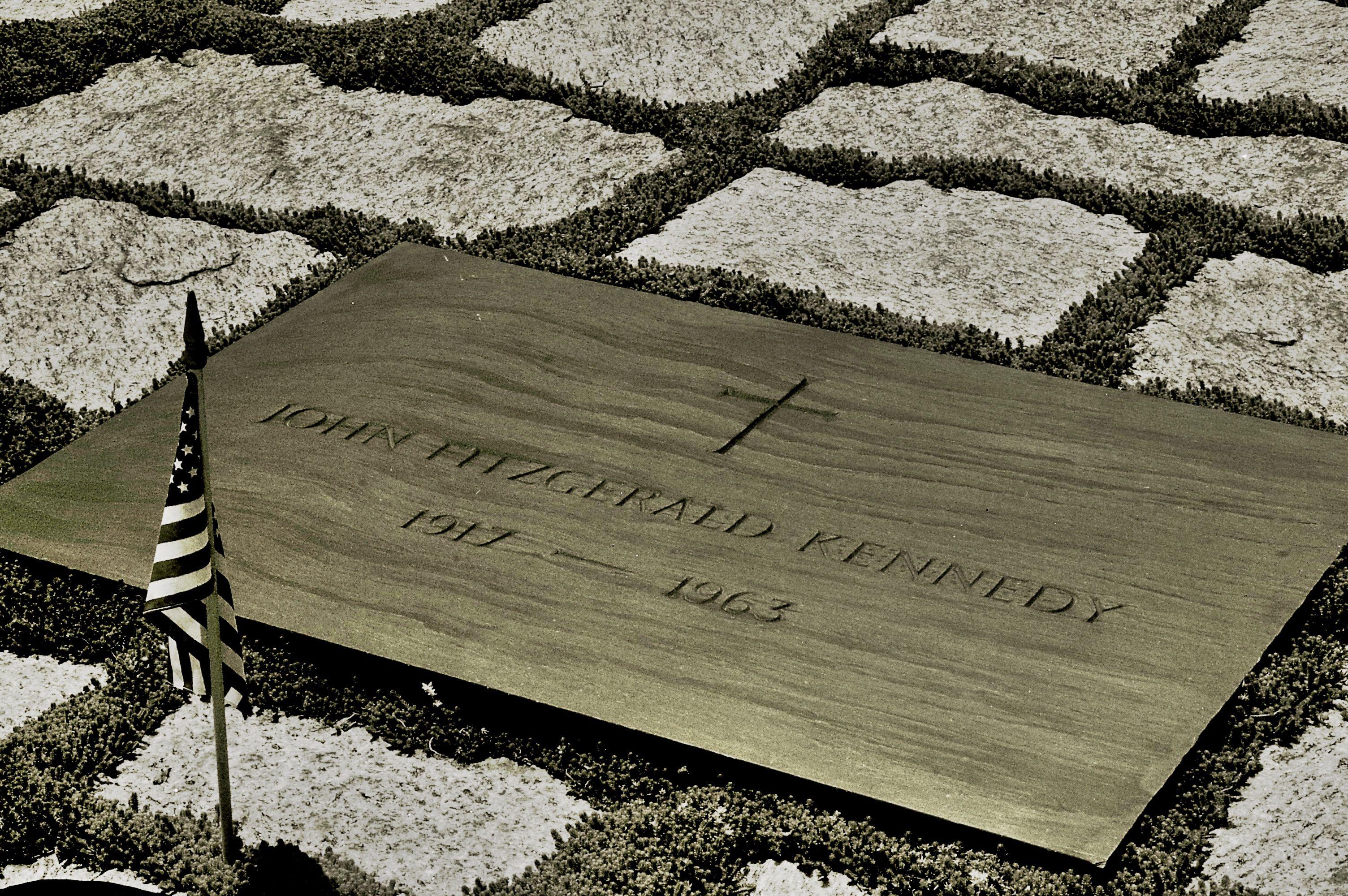 Where JFK was buried. Arlington National Cemetery. Washington DC ...