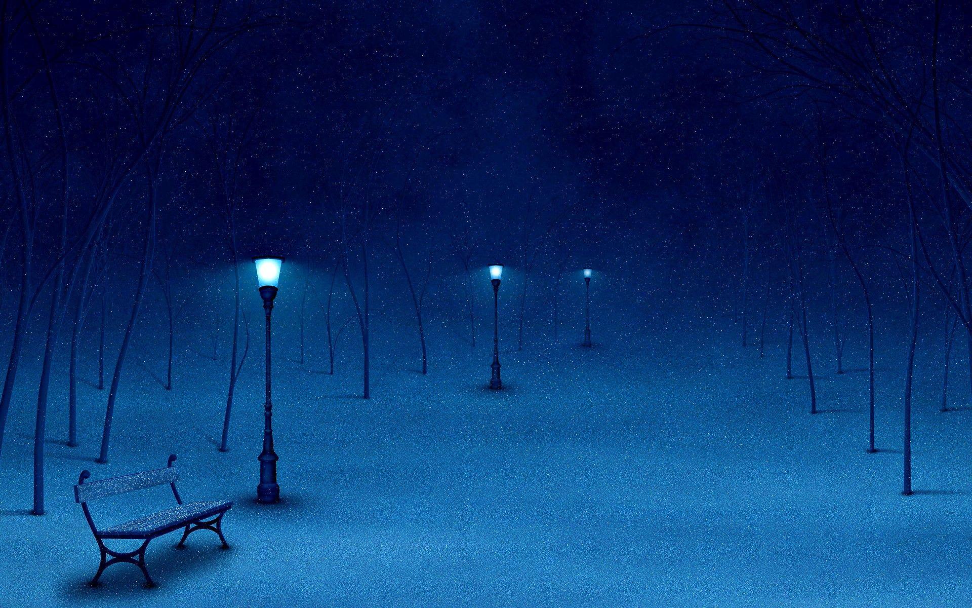 Picture Poem Melancholy Winter Night Winter Wallpaper Winter Scenes Winter Night