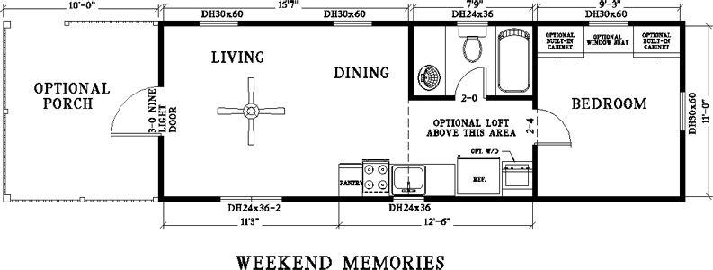400 Sq Ft Oak Log Cabin On Wheels Tiny House Floor Plans House On Wheels Tiny House Plans