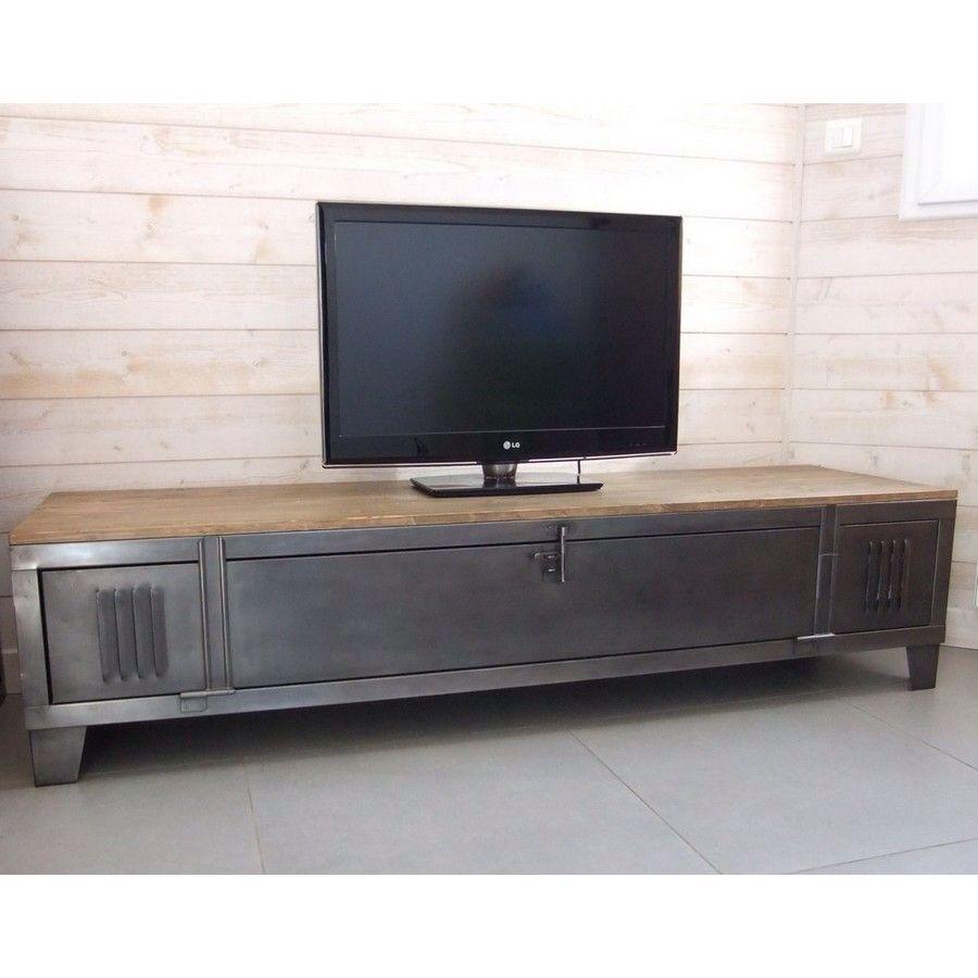 Pin By Yoni Suprasetyono On Tv Cabinet Pinterest Industrial # Table Tv Plasma En Bois Angle
