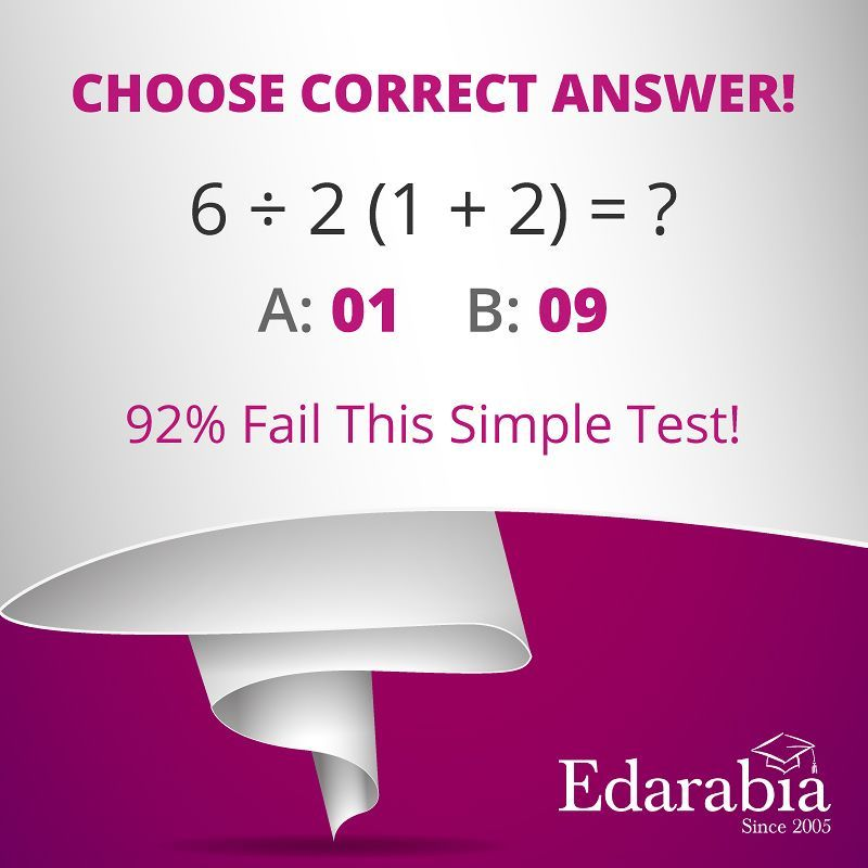 MathQuiz #BrainTeasers: Can you answer this simple Math Question ...