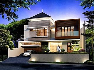 gambar desain rumah minimalis 2 lantai contoh 4 - rumah