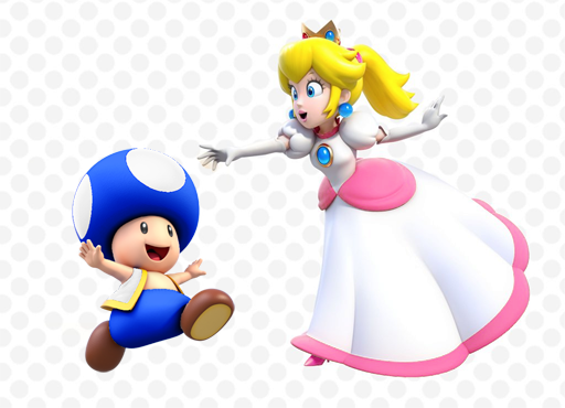 New screens/artworks for Super Mario 3D World : Peach sure ...