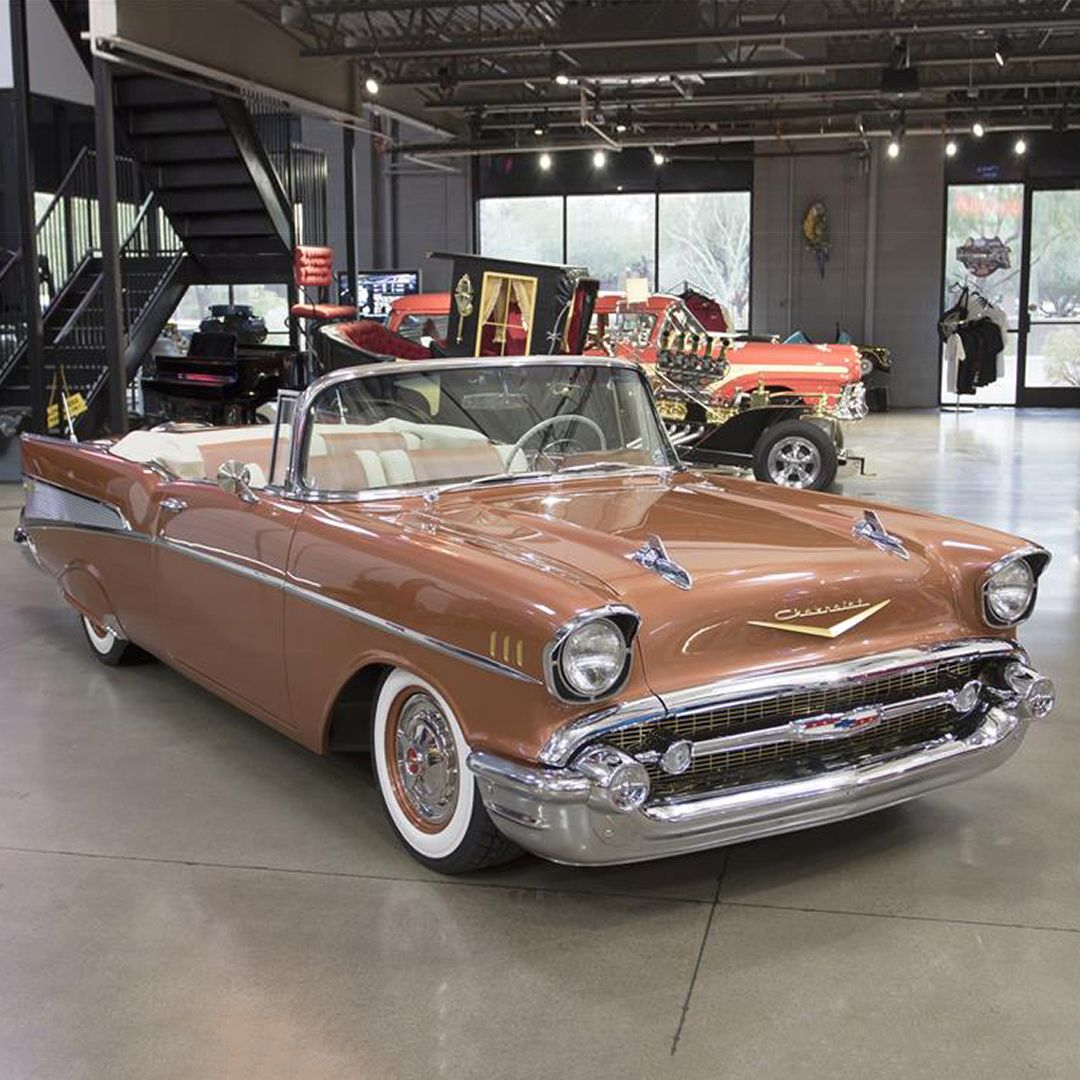 Las Vegas Auction Preview Iconic American Classic This Custom 1957 Chevrolet Bel Air Is A Complete Frame American Classic Cars Classic Cars Chevrolet Bel Air