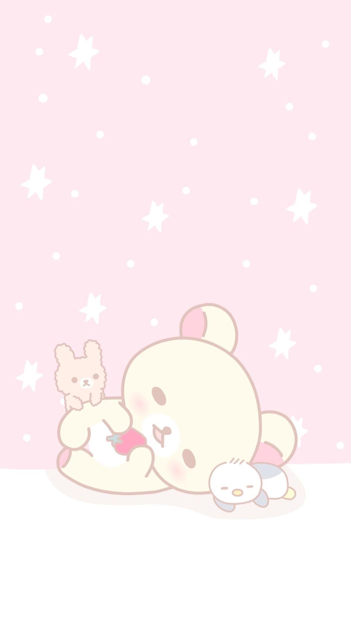 Pin By Babybear On Rilakkuma Rilakkuma Wallpaper Cute Pastel Wallpaper Kawaii Wallpaper