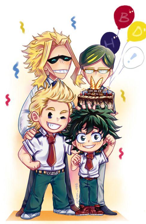 Boku no Hero Academia || Mirio Togata, Izuku Midoriya, Toshinori/All