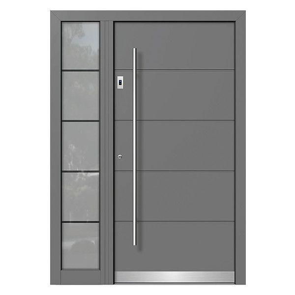 Photo of Inngangsdører av tre-aluminium »moderne inngangsdører neuffer.de