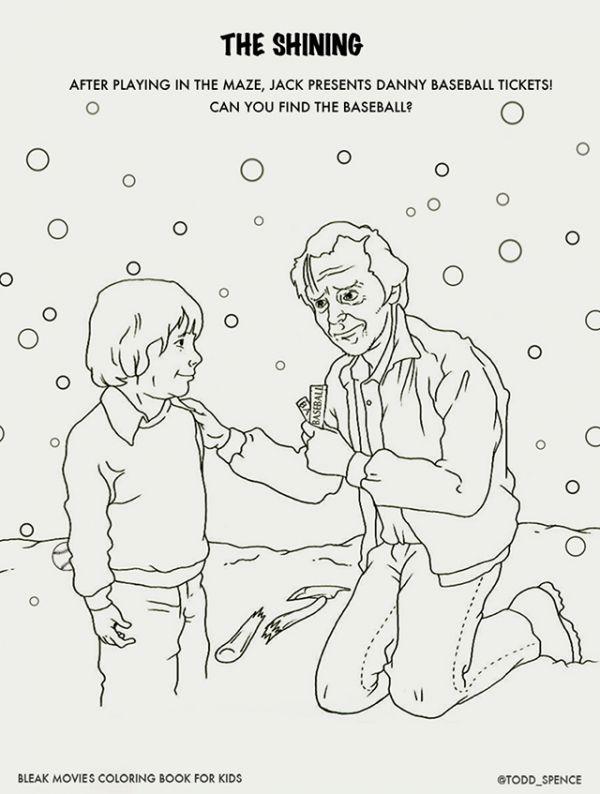 Bleak Movies Coloring Book