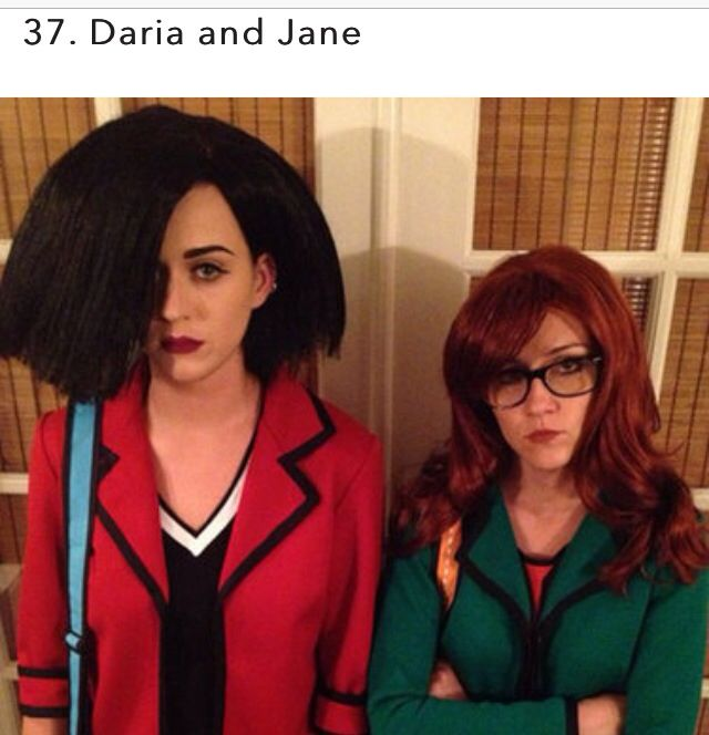 Everyone always calls me Daria anyway -_- Halloweeny Pinterest - different halloween costume ideas