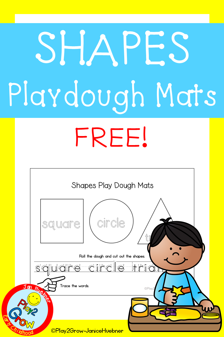 Pre Writing Shapes Play Dough Mats Free Preschool Pre K And Kindergarten Pre Writing Teaching Shapes Writing