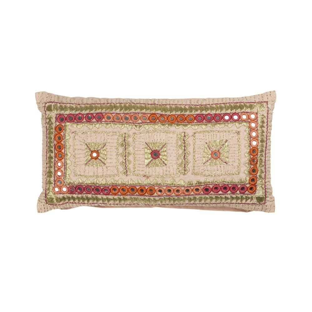 True Hippie Cushion - Magnolia - 25 x 50cm