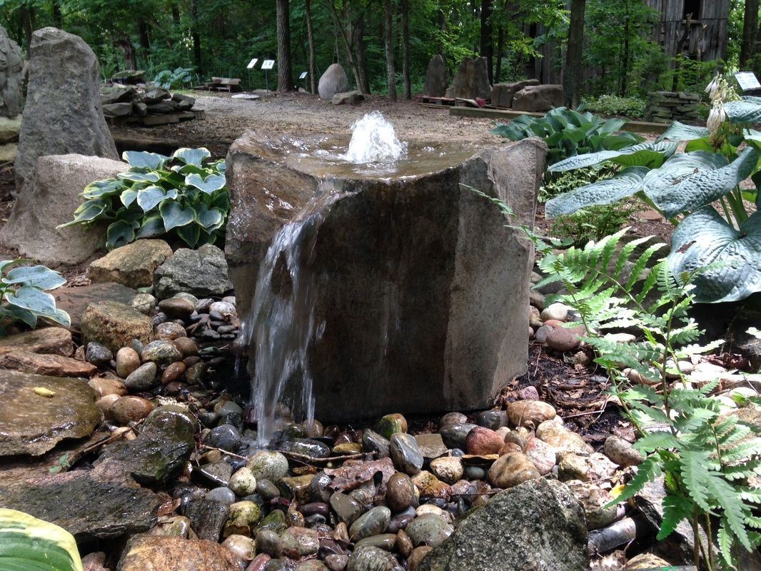 Boulder Fountains We Have Been Making And Selling Our Boulder Fountain Water Fountains Outdoor Water Features In The Garden Garden Waterfall Features