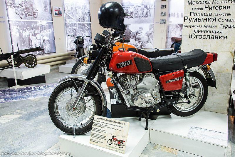 Ижевская история мотоциклостроения. История, Мотоцикл, Музей