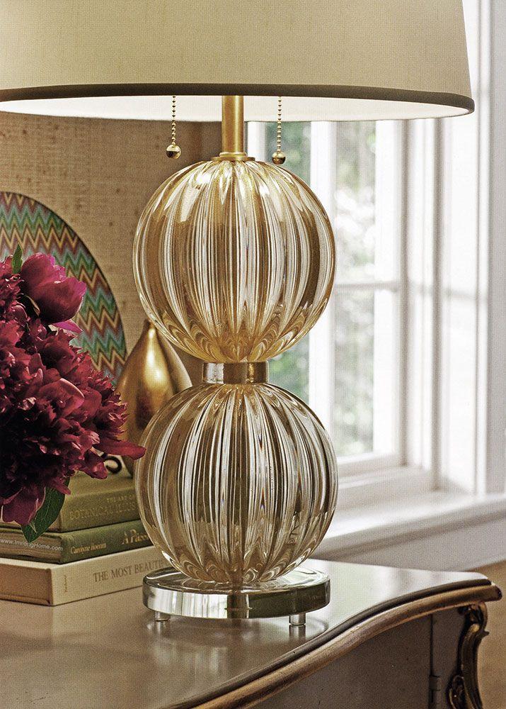 Details Of The Beautiful Murano Glass Lamp Hamd Blown In Murano Isle (Italy)