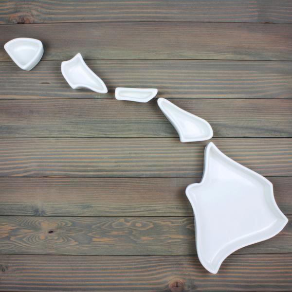 Hawaii State Plate - Corbé Company - handmade - ceramics - 1
