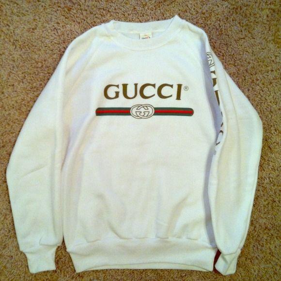 7bd9731f984 Gucci Sweaters - Vintage Gucci Crewneck