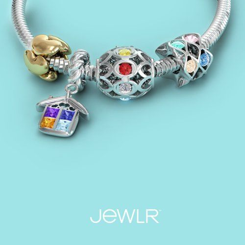Express your individuality with a personalized charm.