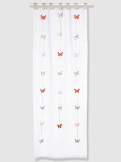Rideau papillons fille thème envolée - vertbaudet enfant | rideaux ...