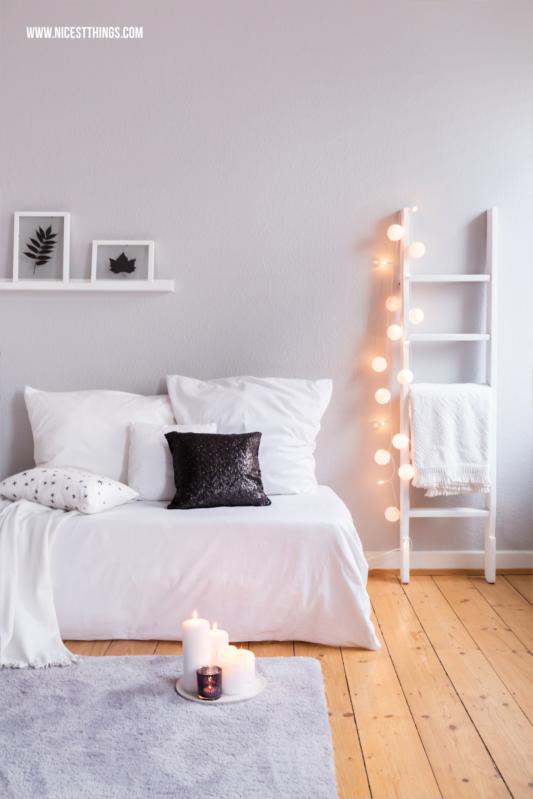 Winterdeko Ideen für's Wohnzimmer, Herbstblätter im