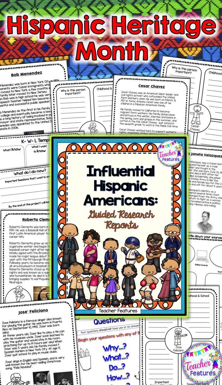 Celebrate Hispanic Heritage Month September 15 October 15 A Close Read Biography Hispanic Heritage Month Teacher Features Hispanic Heritage Month Activities [ 1274 x 736 Pixel ]