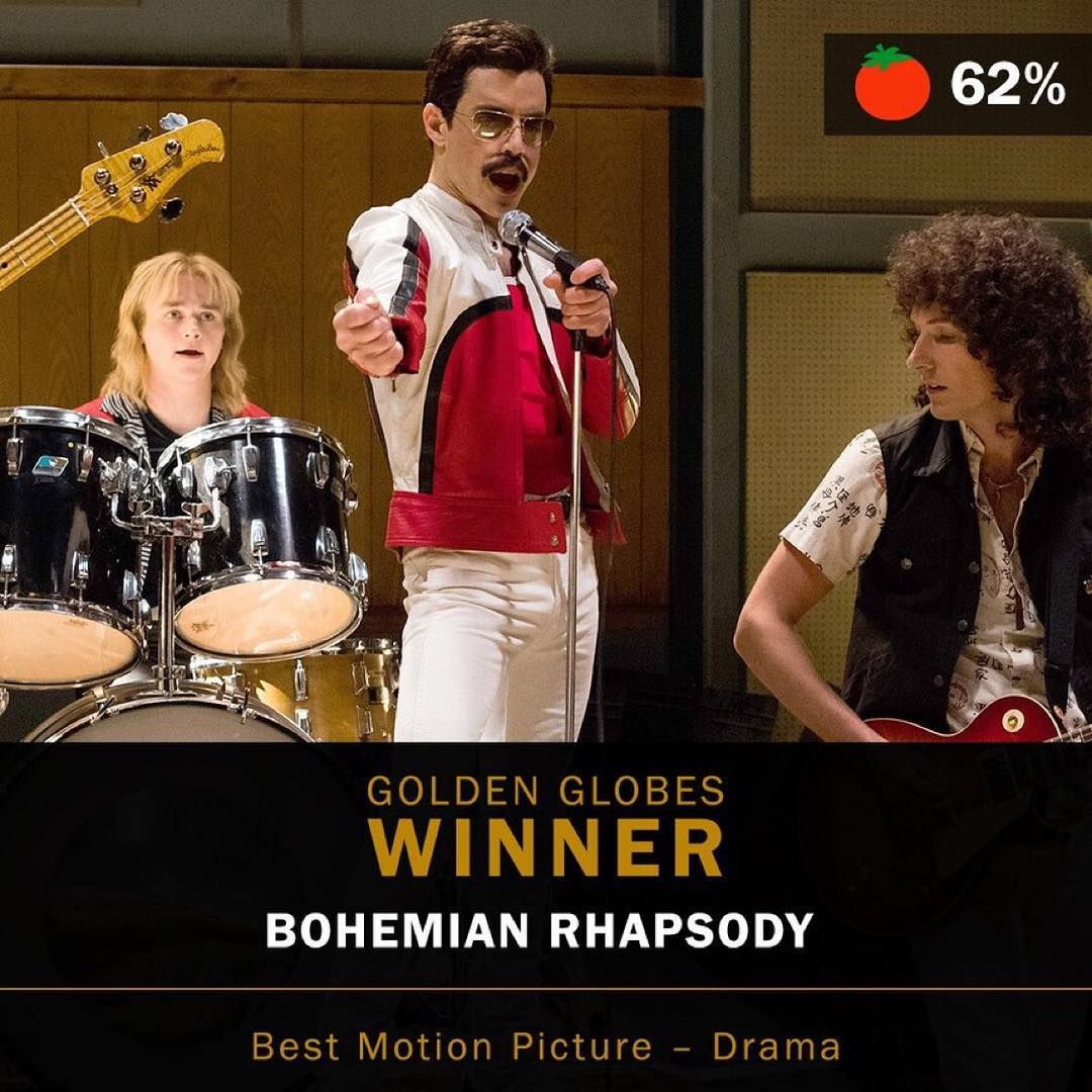 "Rotten Tomatoes on Instagram ""BohemianRhapsody (62"