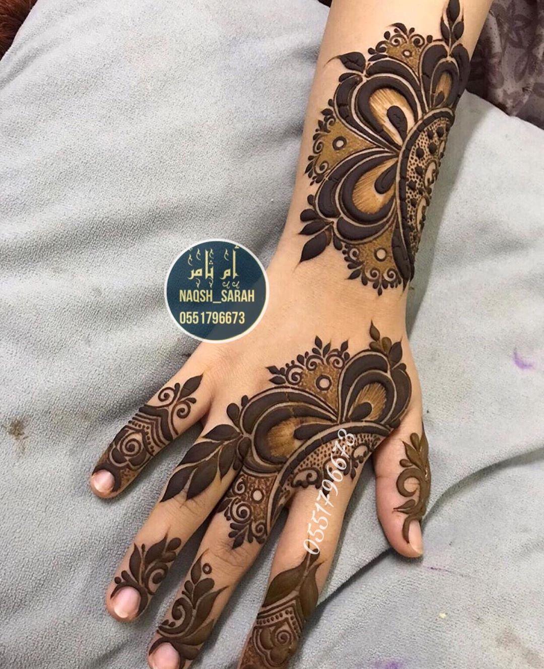 نقاشه الرياض نقش حناء الخرج On Instagram اكتب شي تؤجر عليه ماشالله سبحان الله الح Mehndi Designs For Fingers Mehndi Designs For Hands Mehndi Designs