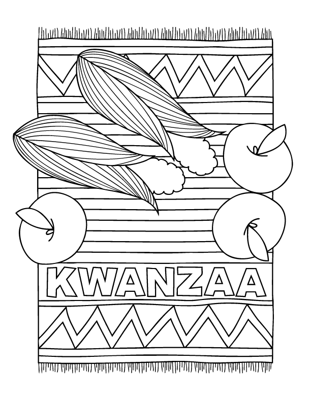 December Holiday Coloring Pages   School and Kiddos   Pinterest ...