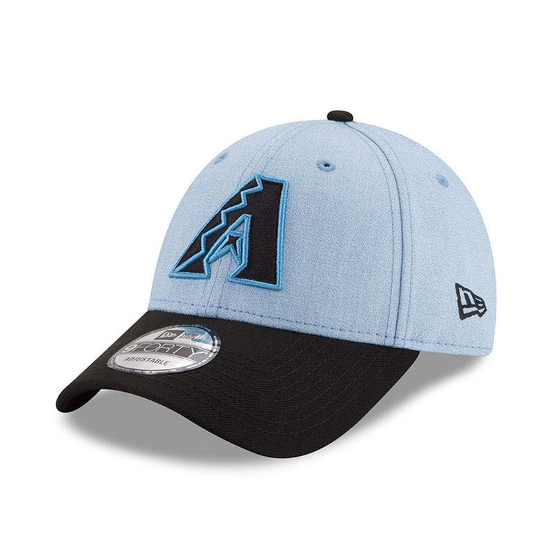 Arizona Diamondbacks New Era 2018 Father s Day 9FORTY Adjustable Hat –  Light Blue ba59a6ef04f0