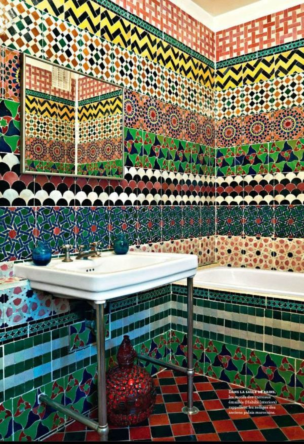 Moroccan Tile In Interior