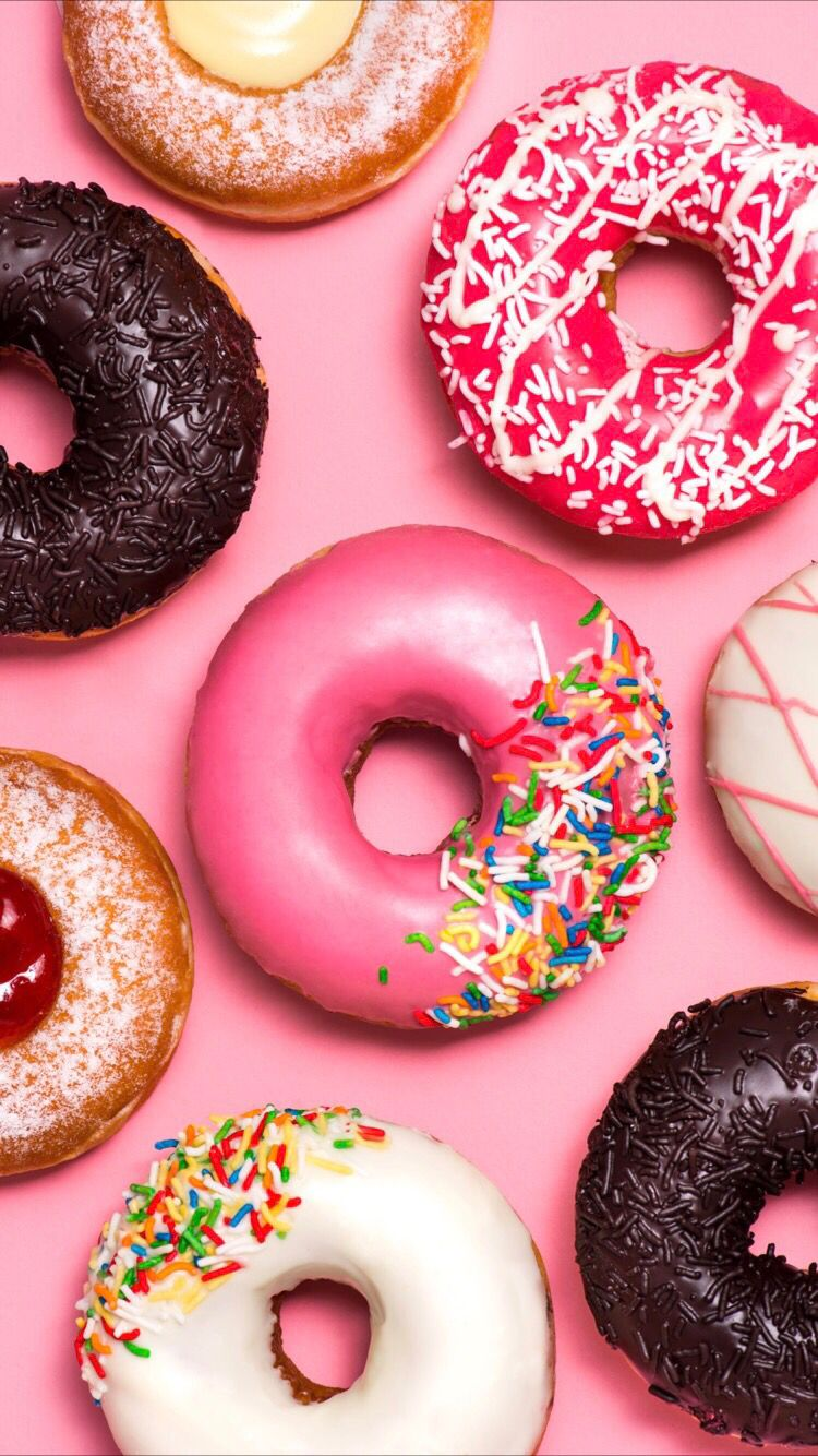 Delicious Donuts Wallpaper For Your Iphone X From Everpix