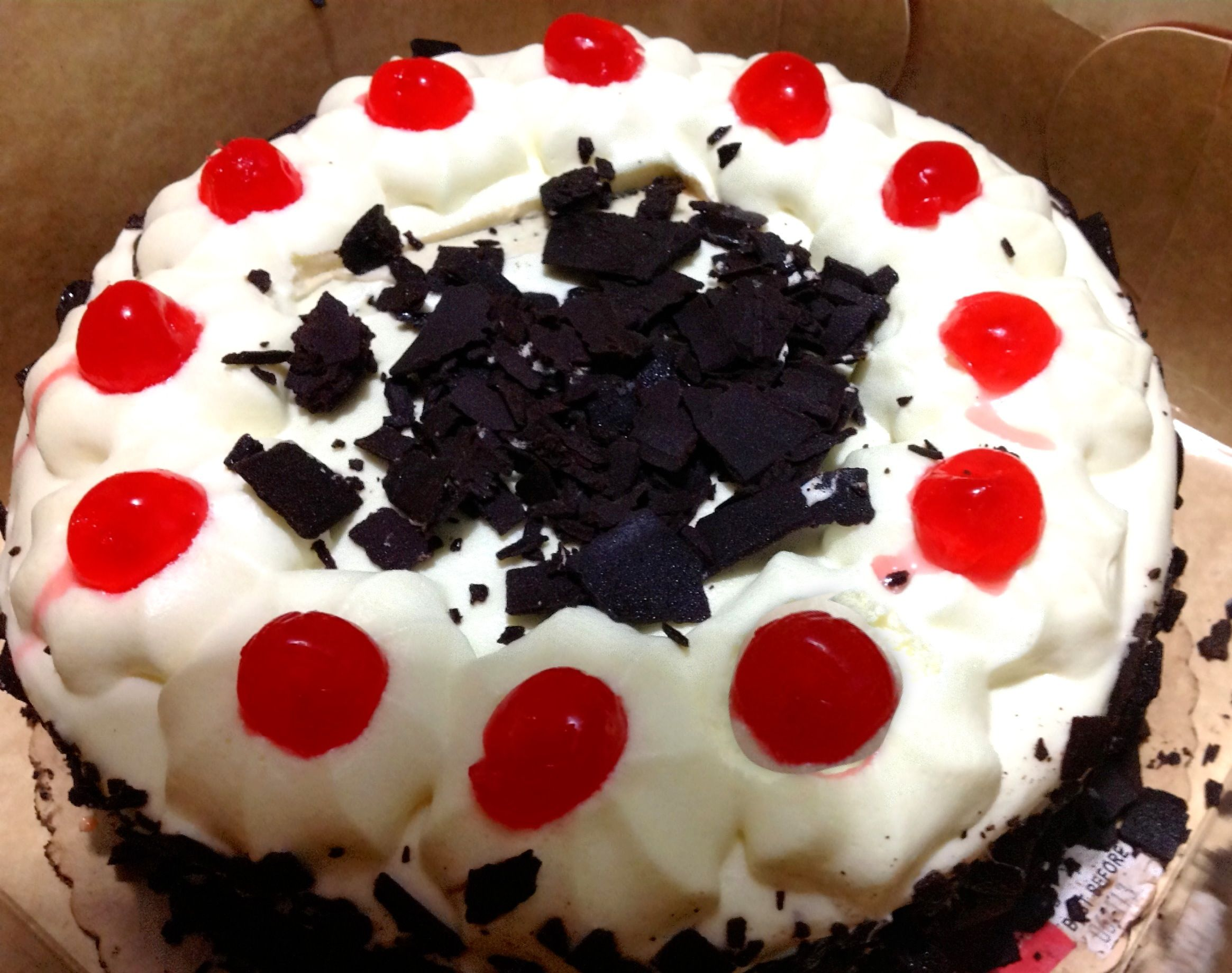 Black Forest Cake, Red Ribbon cake shop 06-17-13 ⭐⭐