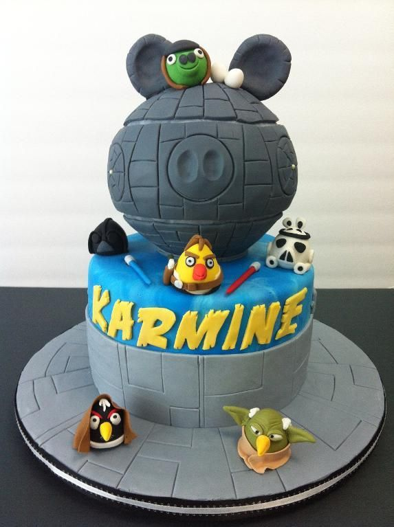Angry Bird - Star Wars by ludette | Cake Decorating Ideas