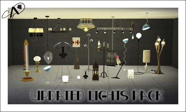 Sims 4 Designs: Lights Pack • Sims 4 Downloads