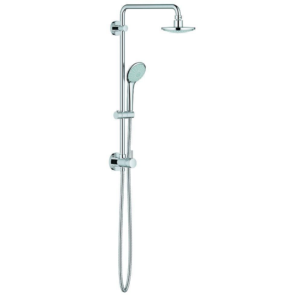 Grohe Retro Fit 1 Spray Rain Shower System With Hand Held