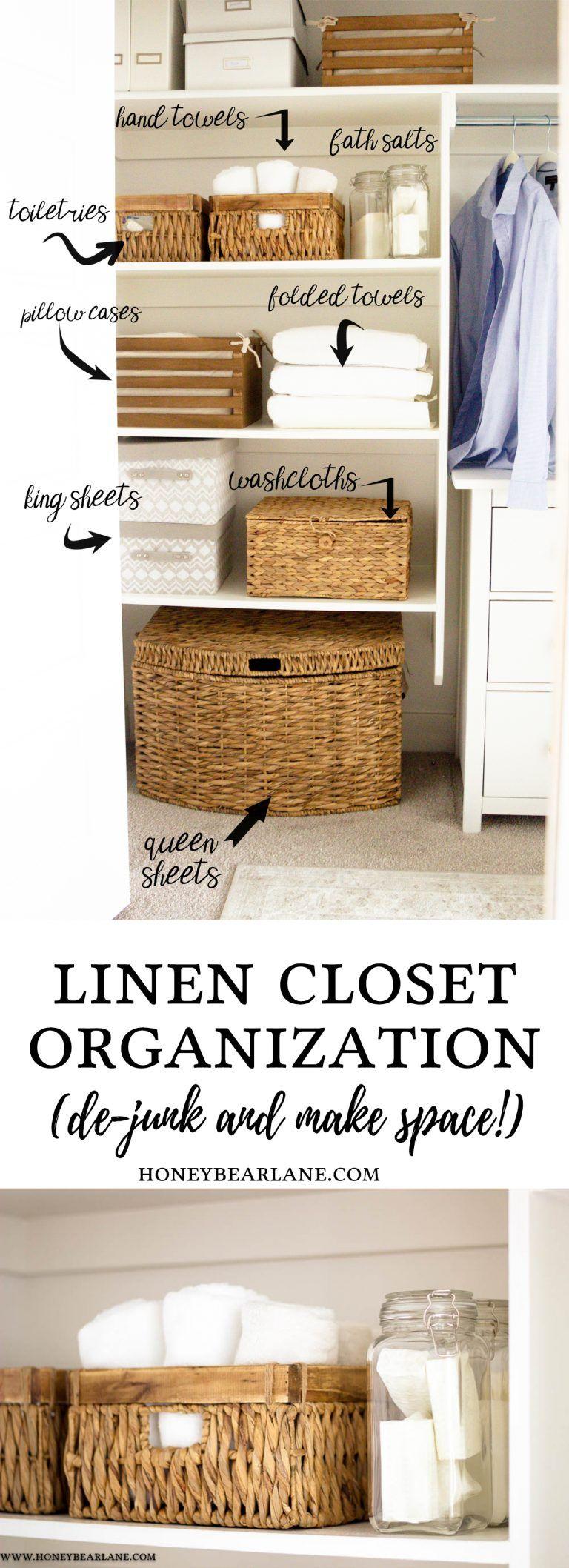 Photo of KonMari Your Linen Closet – Honeybear Lane
