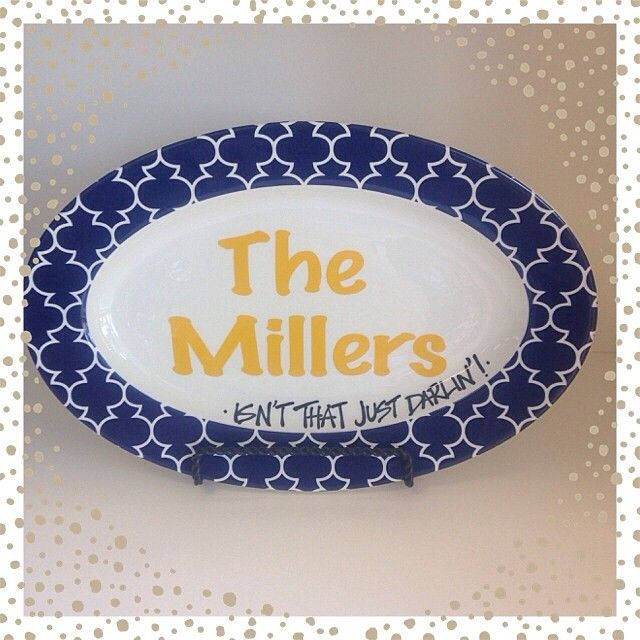 The perfect serving platter for any Southern home!