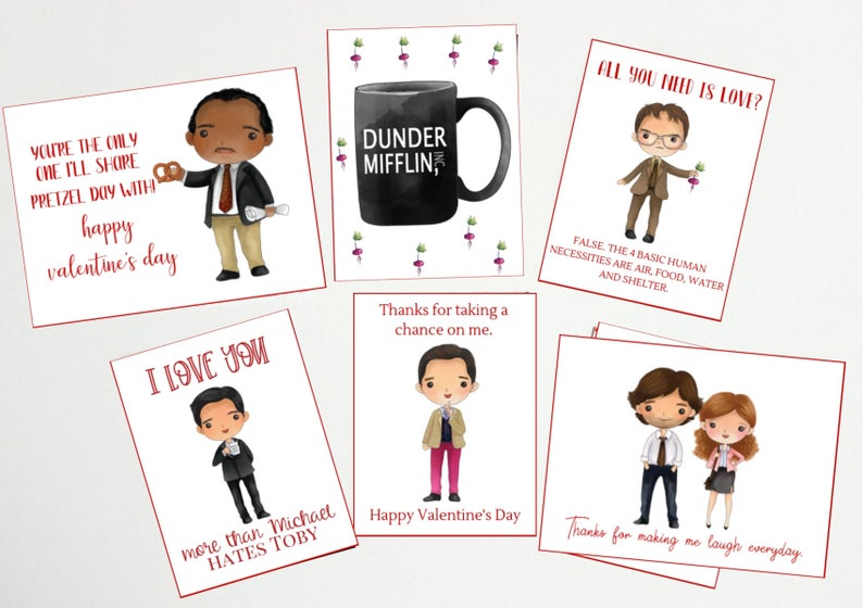 The Office Valentine Card Beets Bears Be Mine Dwight Schrute Etsy In 2020 The Office Valentines Valentines Cards Valentines Printables
