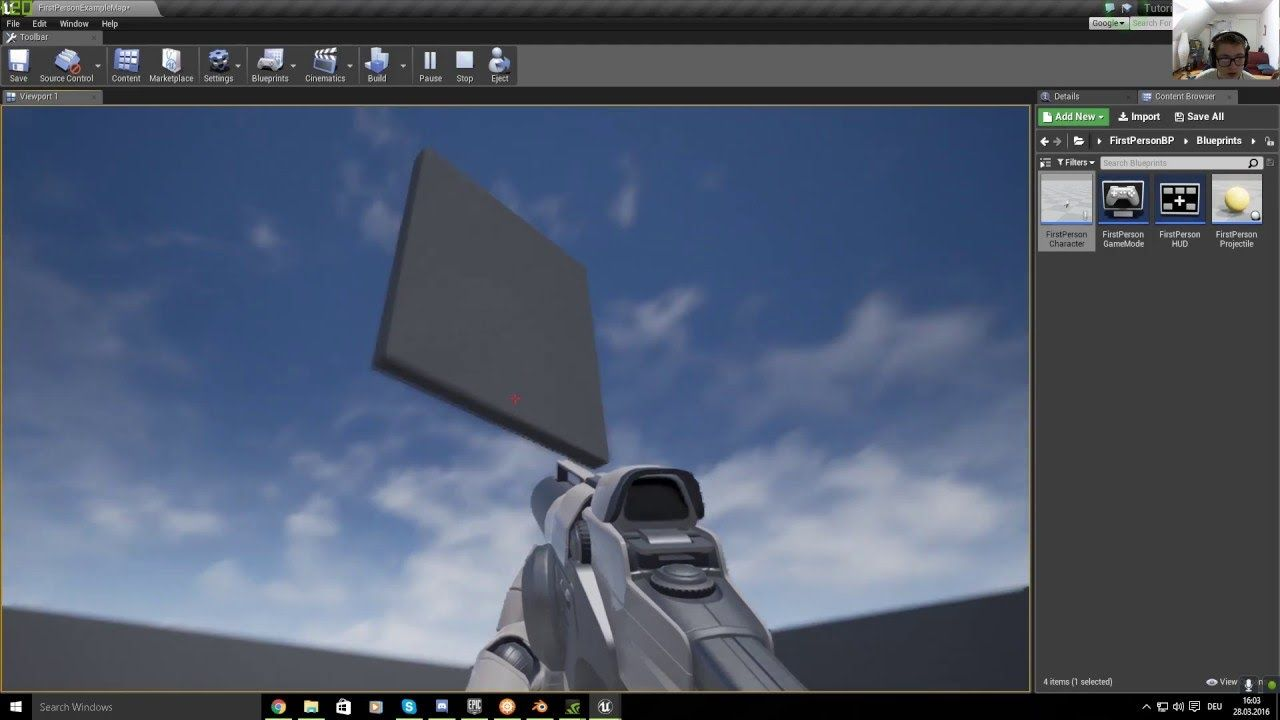 UE4, Building System [ Tutorial / HD ] | Unreal Engine in