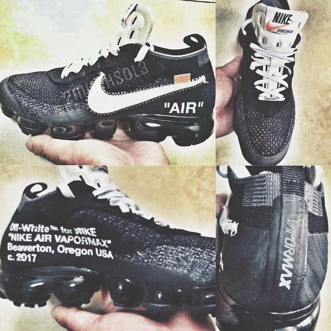 OFF-WHITE x Nike Air VaporMax Leak | HYPEBEAST