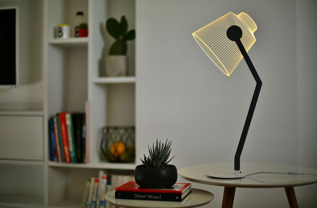 Media 2d Lamp Led Table Lamp Black Table Lamps Lamp