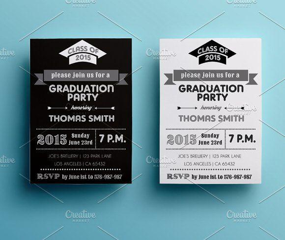 graduation party invitation creativework247 invitation cards