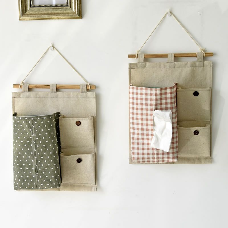 Photo of US $8.6 |Real Boites Mouchoir Cotton Plaid Pattern Wall Storage Bag With Tissue Case Waterproof Hanging Type Box For Home Decoration|bag pattern|bags withbag bag – AliExpress