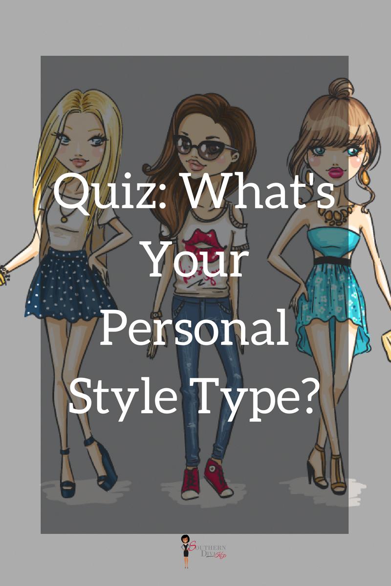 Clothing Aesthetic Types Quiz