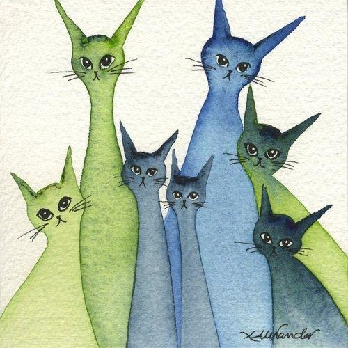 cats by Lori Alexander
