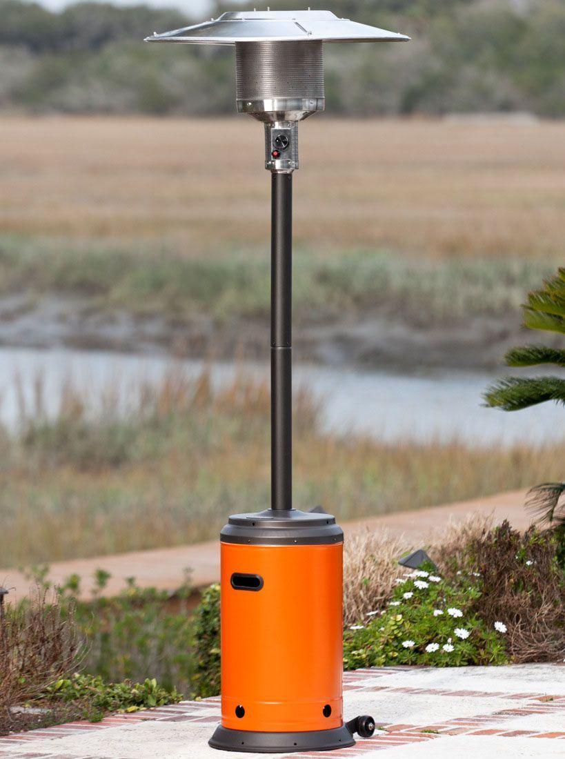 Admirable Garden Sun Outdoor Propane Patio Heater For Winter: Amazing  Orange Garden Sun Outdoor Propane