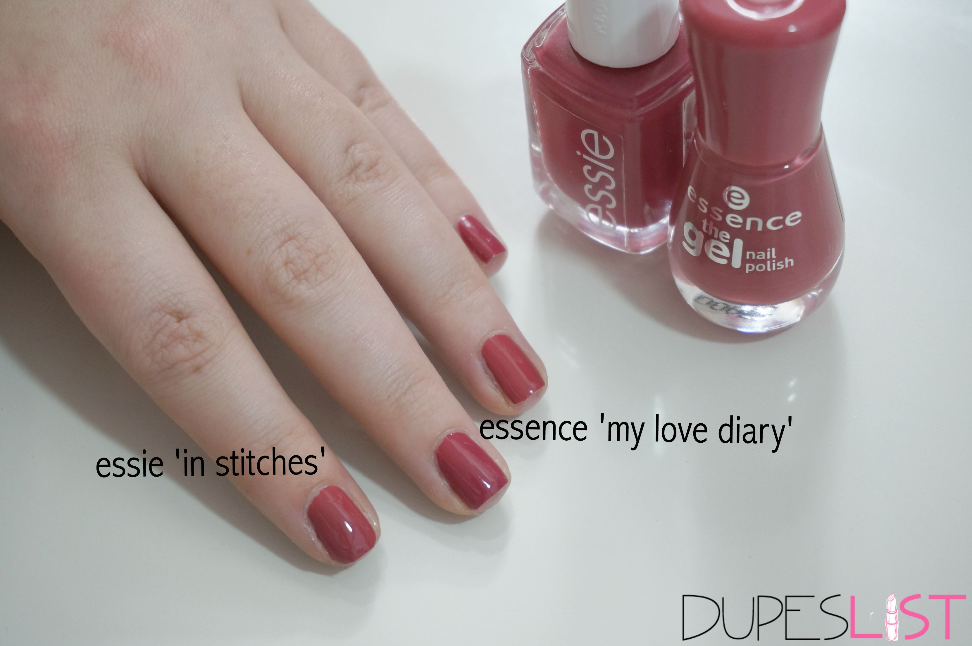 essie in stitches dupe - nail polish essence cosmetics my love diary ...