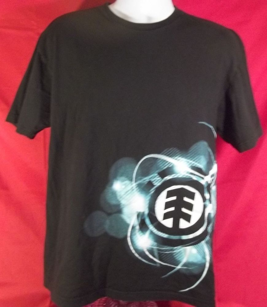 b1259ac726d Element T shirt Large black short sleeve great condition organic ...