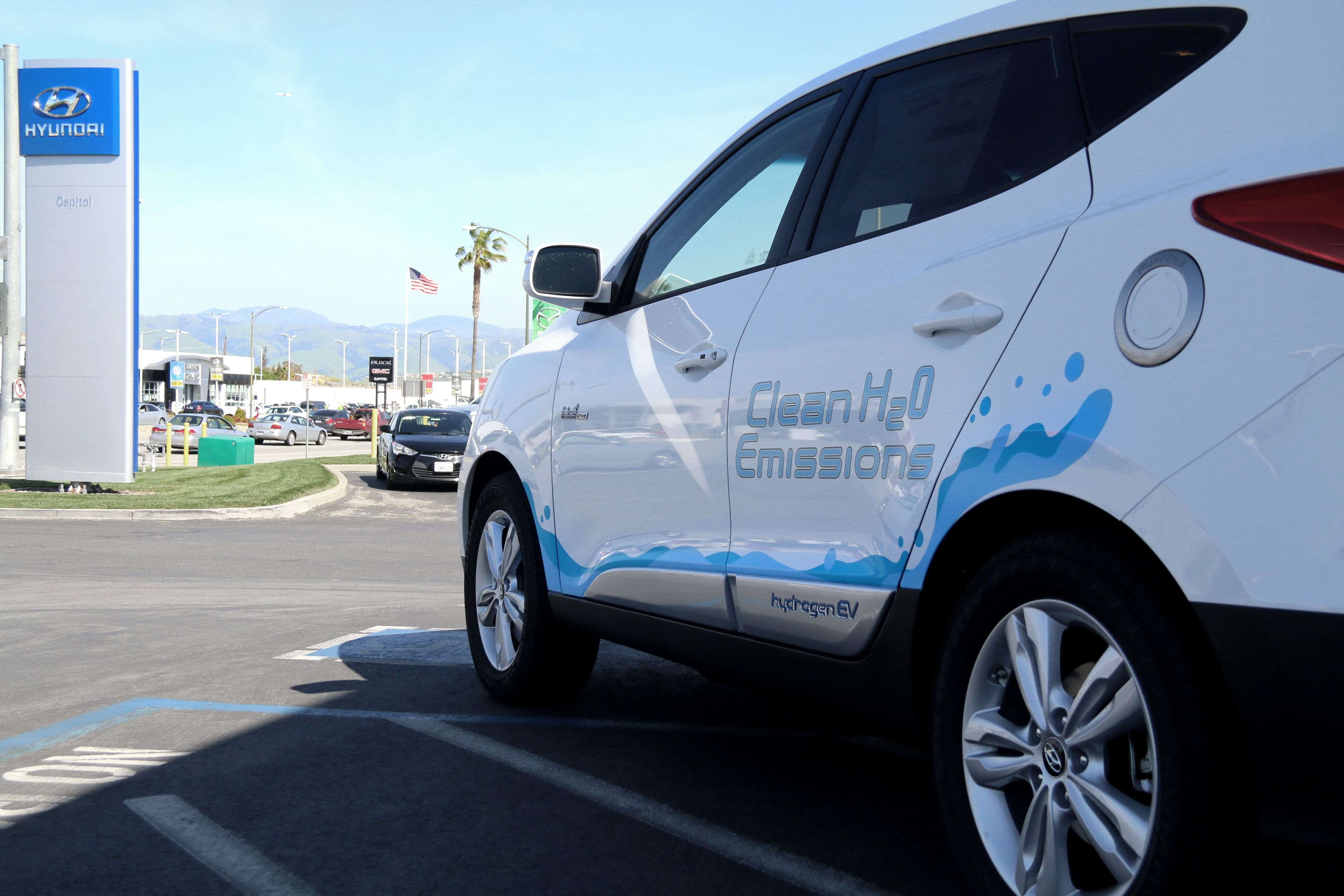 ... Just Became The 5th Qualified Dealer For Hyundaiu0027s Zero Emissions  #Tucson #Fuel Cell #hydrogen #electric Vehicle Today. #Hyundai #BeHappy  #DGDG #BayArea